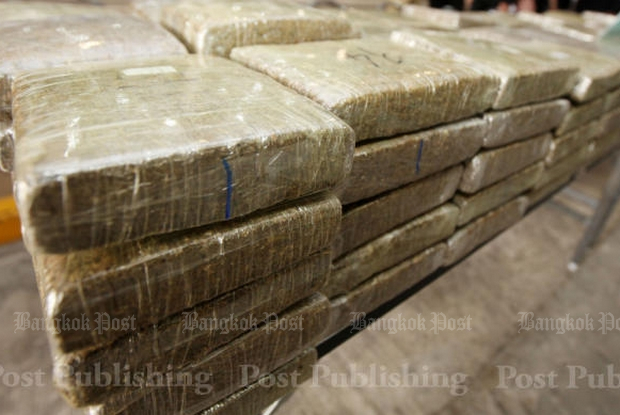 430kg of marijuana seized near Mekong