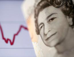 UK pound falls with Conservatives' poll numbers
