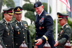 US army Pacific chief in Bangkok