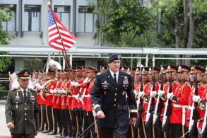 Top US Army general visits