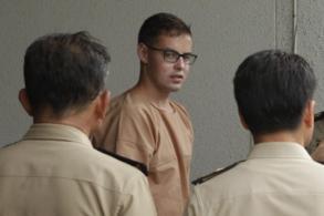 Wanted Singapore bank robber gets jail in Bangkok
