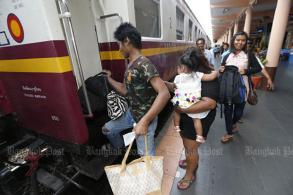 Don Sak-Surat Thani rail route under study