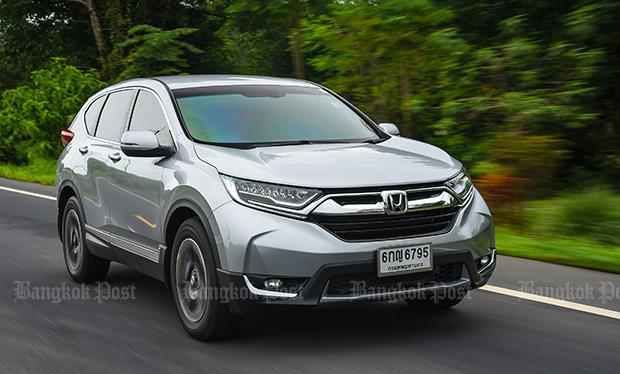 Honda CR-V 2.4 petrol (2017) review