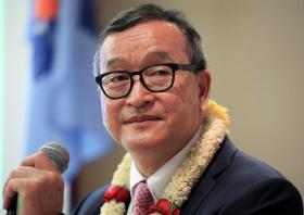 Sam Rainsy can return - and risk prison