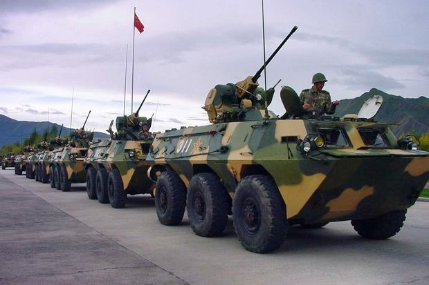 Army defends armoured vehicle splurge