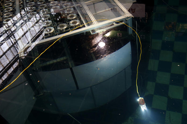New robot unveiled to inspect melted reactors at Fukushima