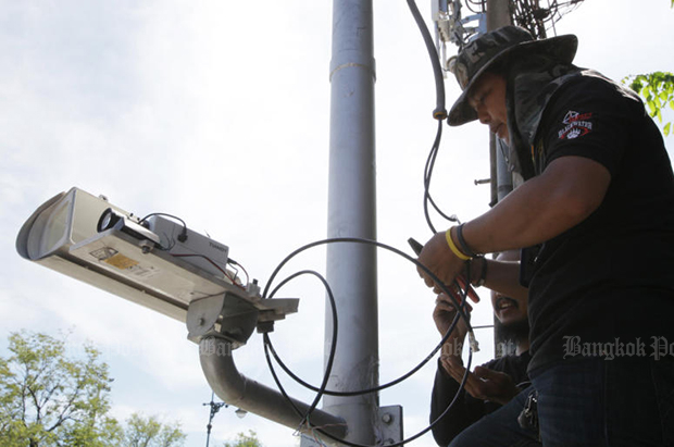 Govt plans to install 40,000 security cameras nationwide