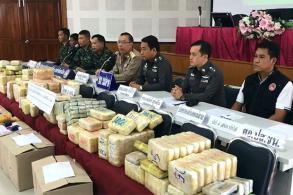 Drug smuggler killed, 2m 'ya ba' pills seized