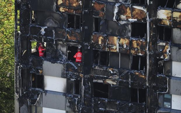 London police say 58 people assumed dead in tower block blaze