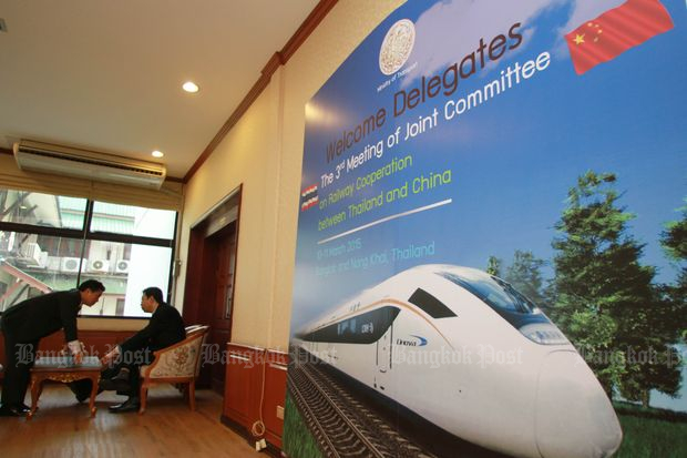 Wissanu assures know-how transfer in train project