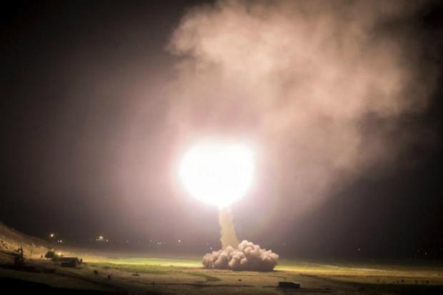 US warplane blasts Syrian drone from sky