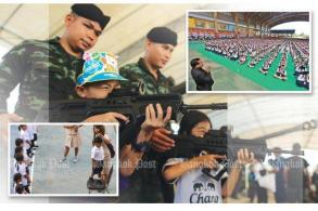 Militarization of Thai society after 2014 coup
