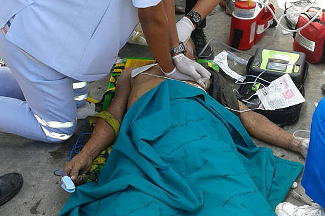 Toxic gases blamed as 5 die after factory fall in Bang Na
