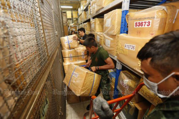 Supersized drug busts force new storage facility