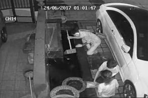 Manhunt for fish thieves