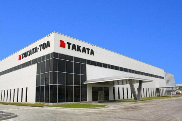 Takata, firm that plead guilty for exploding airbag scandal, files for bankruptcy