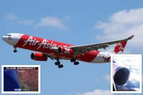 AirAsia plane 'shaking like washing machine' returns