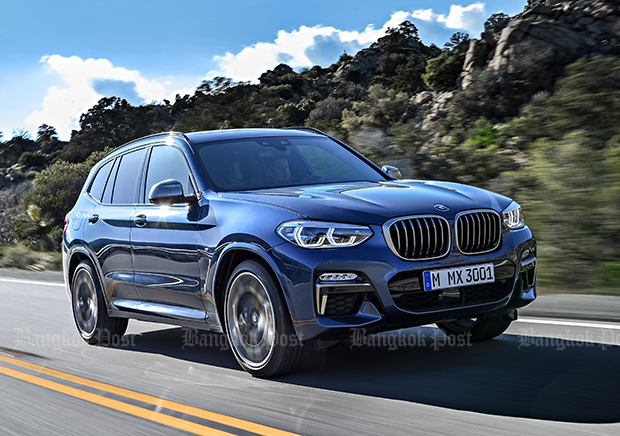 New BMW X3 unleashed for 2017