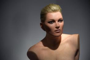 Kate Moss immortalised as mannequin-style sculpture