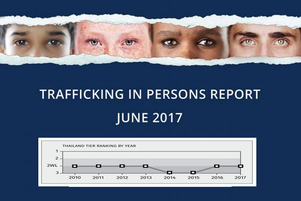 Thailand gains, losses cited in trafficking report