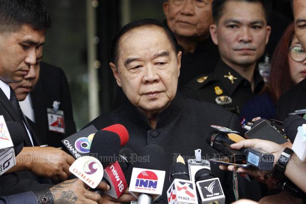 Arms sales not focus of Prayut's US trip