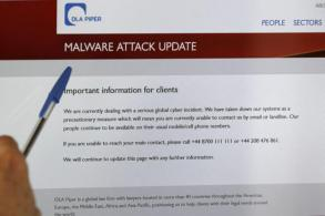 Cyberattack reaches Asia, new targets hit by ransomware