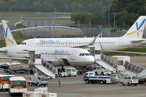 Japan carrier forces wheelchair user to crawl up plane stairs