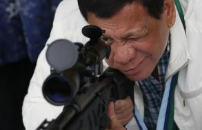 Philippine leader tells troops not to fear civilian deaths