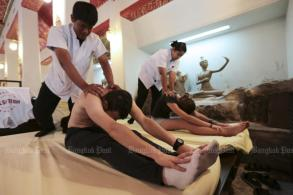 Govt goes hands on with massage therapy