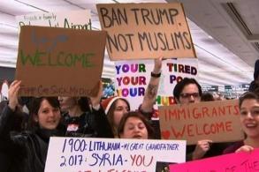 US scrambles to begin 6-nation travel ban