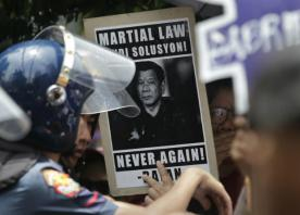 Philippines' top court upholds Duterte's martial law