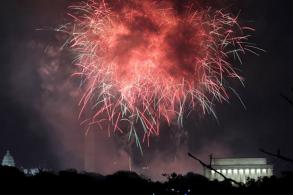 America celebrates its 241st birthday