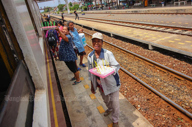 Slow train to Korat