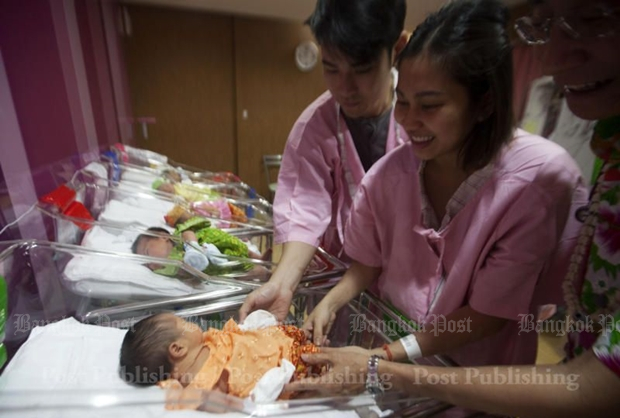 Thailand needs more babies, Ministry