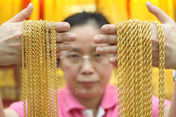 Gold prices up B100 to 19,650