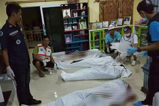 Eight shot dead in Thailand village chief's home