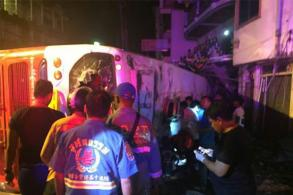 2 Chinese tourists die in Patong hill bus crash