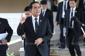 Prayut hints at local polls next year
