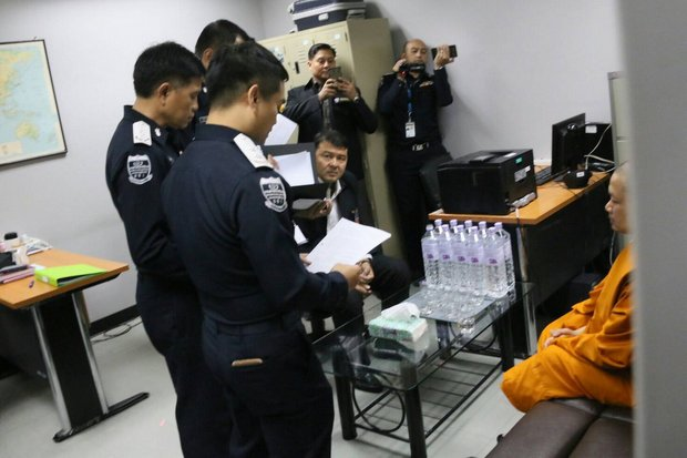 'Jet-set' monk arrives in Thailand after extradition from US