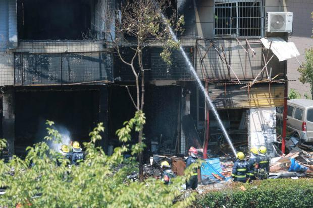 Two killed, 55 injured in Hangzhou restaurant explosion