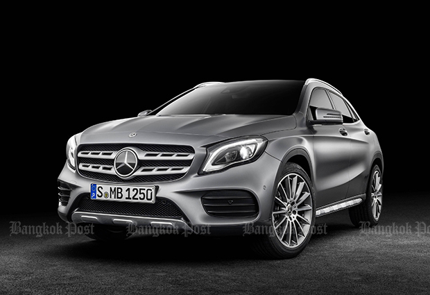 Mercedes-Benz maintains prices of core-selling GLA in facelifted form