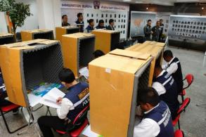 44 nabbed in 'call-centre scam' raids