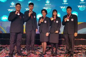 Thailand wins 2 golds, 3 silvers in physics competition