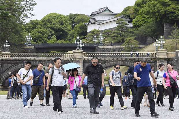 Surge in visitors to Japan attributed to S. Korean tourists