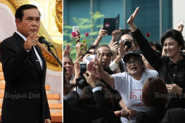 PM ramps up Yingluck rally threat