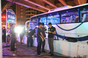Bus accidents in Pattaya, Roi Et claim 2 lives