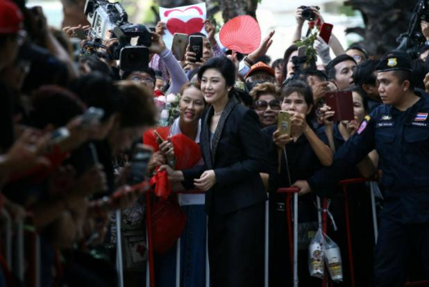 Ousted Thai leader Yingluck Shinawatra faces ten-year sentence in corruption trial