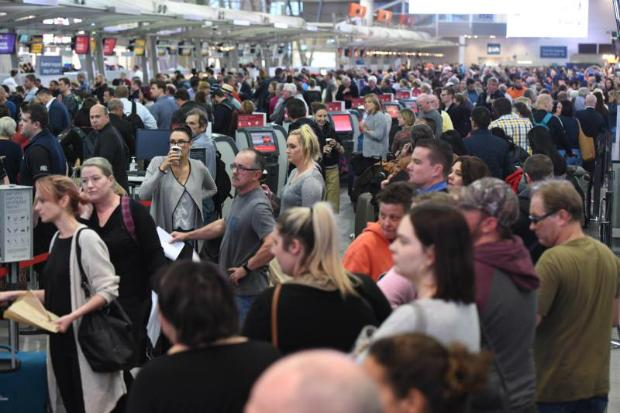 Australian airports will resume normal service with the aviation terrorism threat 'contained'
