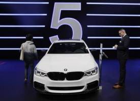 BMW's soaring profit fuelled by new 5-Series sedan