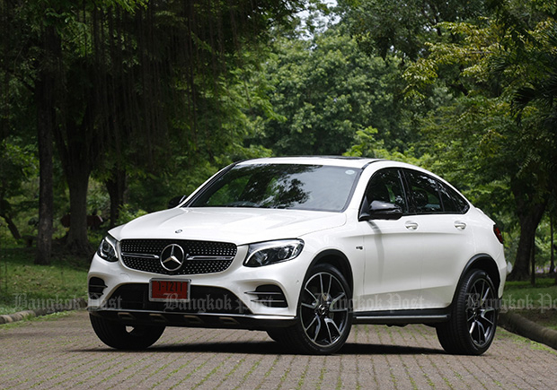 Mercedes-AMG GLC43 Coupe (2017) review
